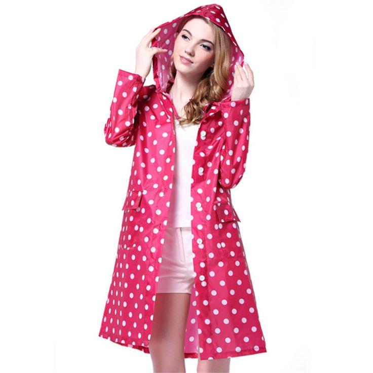 raincoats for women raincoat women picture - more detailed picture about 3color dot raincoats  for women men ZCAEHYB
