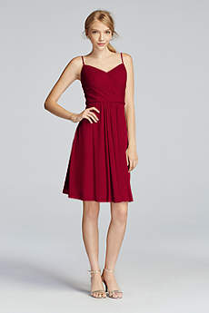 red bridesmaid dresses | davidu0027s bridal FOEDINP