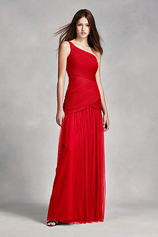 red bridesmaid dresses | davidu0027s bridal LRICKYR