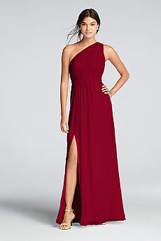 red bridesmaid dresses soft u0026 flowy davidu0027s bridal long bridesmaid dress THECNIF