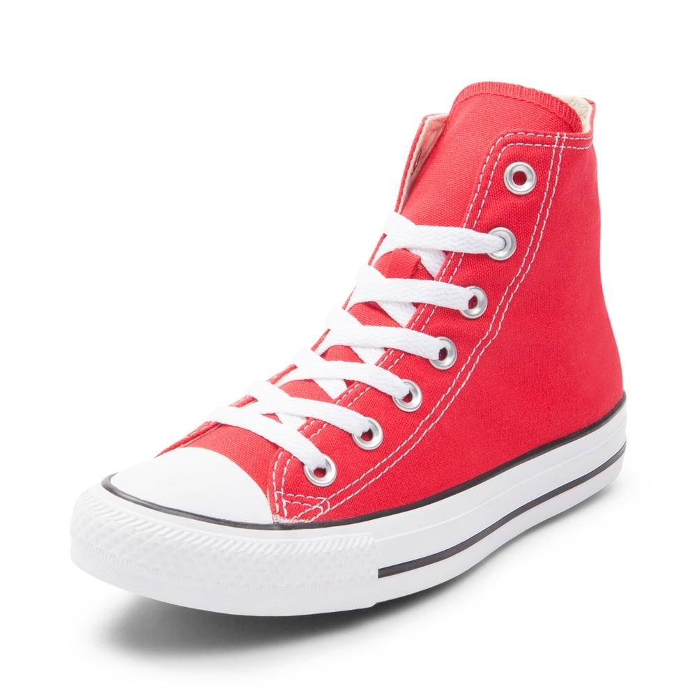red converse converse chuck taylor all star hi sneaker DYGZHRZ