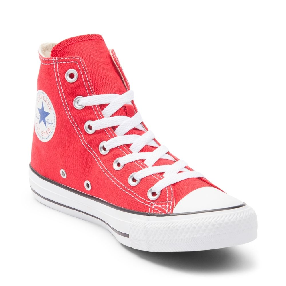 red converse converse chuck taylor all star hi sneaker MXEZUWG