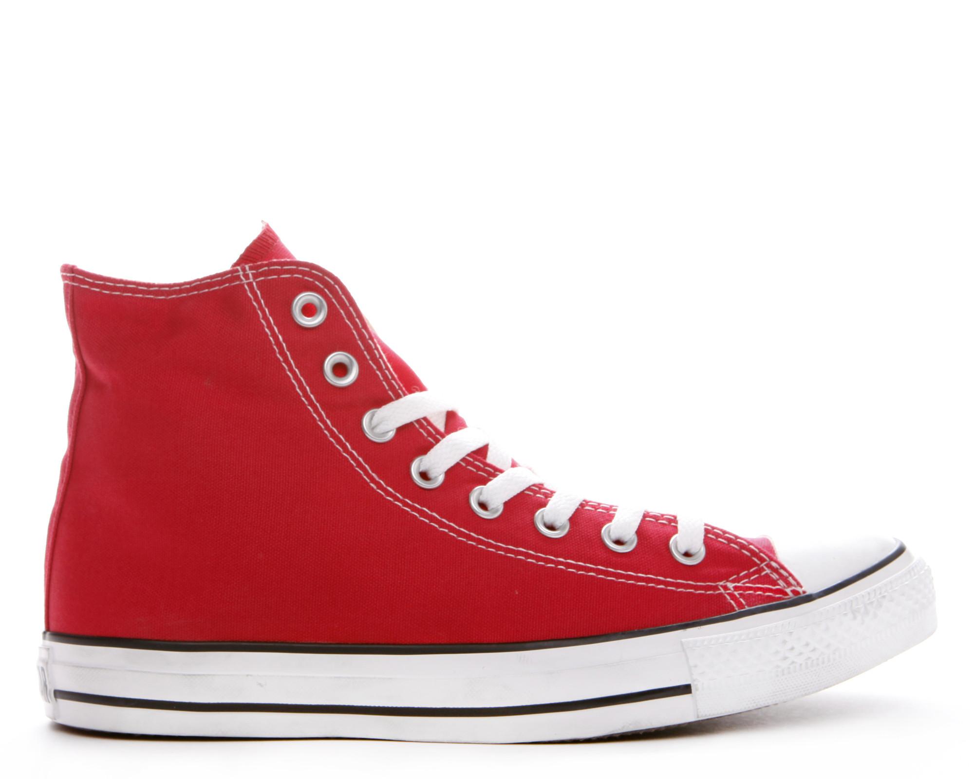 red converse converse chuck taylor all star hi top | dtlr.com ELGIMMX