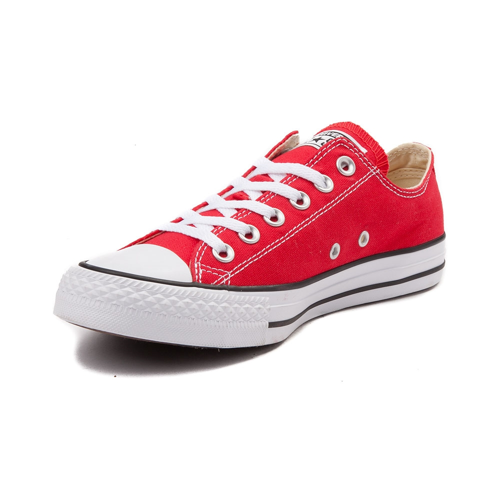 red converse converse chuck taylor all star lo sneaker HPYTMVX