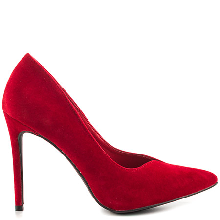 red heels penny loves kenny shiver - red velvet KFRWCXB