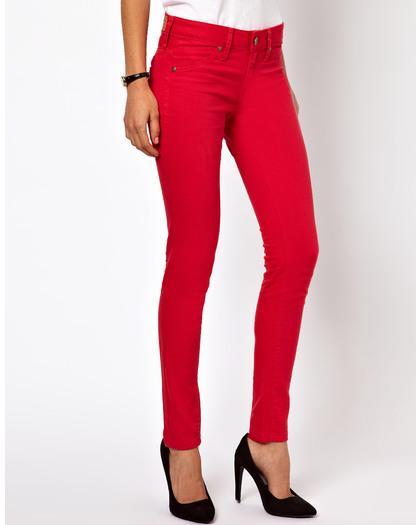 red jeans mango red skinny jean TCTBBXI