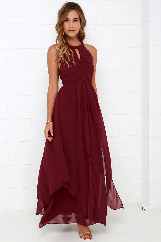 red maxi dress 1 DPEJLHC