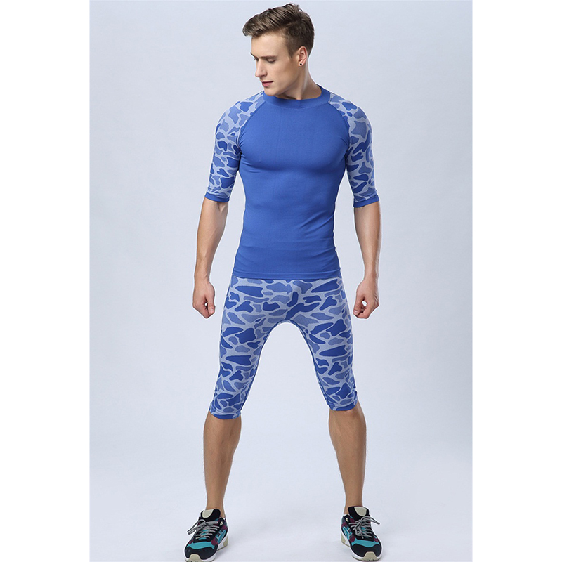 running clothes for men medium mens underwear camouflage fitness clothing  for men bodybuilding sports DVPKRQS