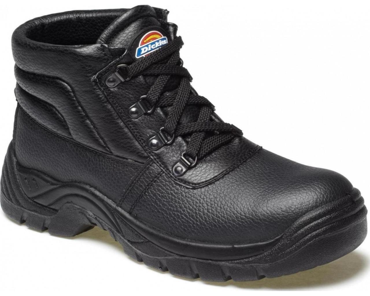 safety boots dickies redland safety chukka boot (sizes 3-14) - black ZDYJRHV
