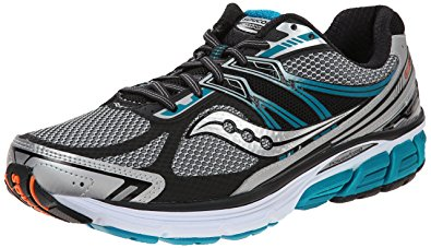 saucony running shoes saucony menu0027s omni 14 running shoe, silver/blue,7 ... FTEBWKR