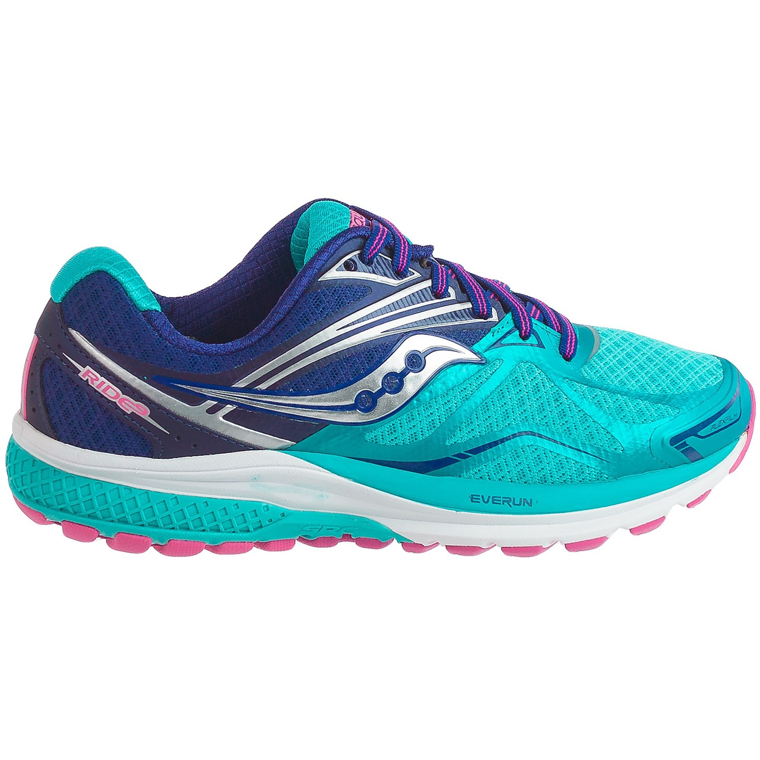 saucony running shoes saucony ride 9 running shoes (for women) YVJBGBV