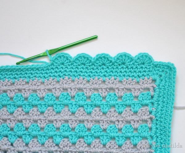 scalloped crochet edging FEODHIF