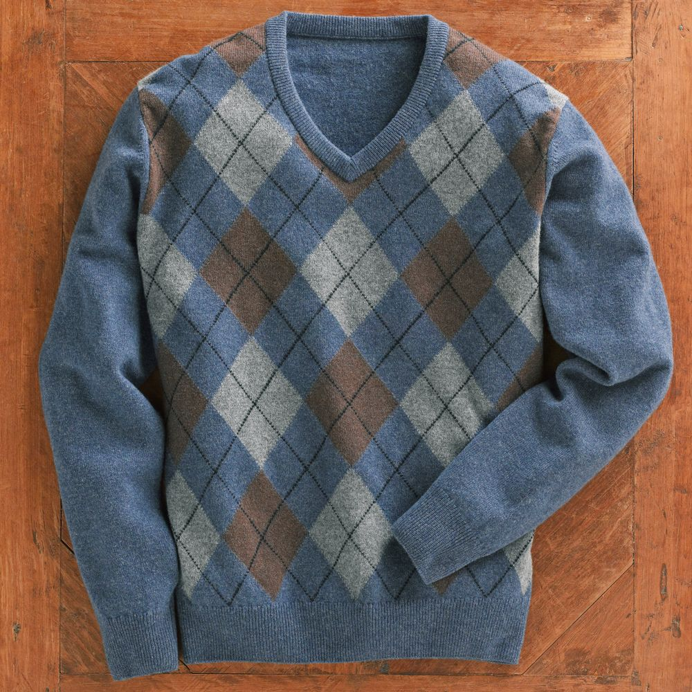 scottish lambu0027s-wool argyle sweater - national geographic store TGLZJZC