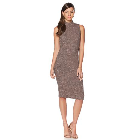 serena williams sleeveless ribbed knit dress VYXQTIG