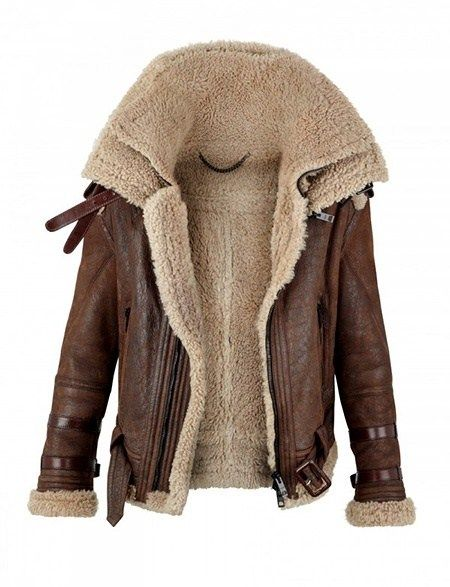 shearling coat always wanted and authenitc style bomber jacket burberry prorsum shearling  coat for autumn/winter 2010 KFSMSKG