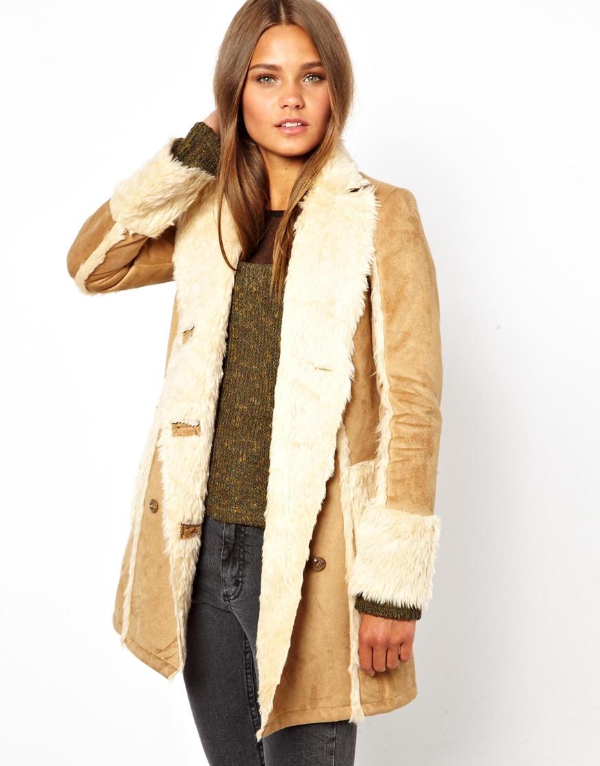 shearling coat gallery. womenu0027s shearling coats REIPLWC