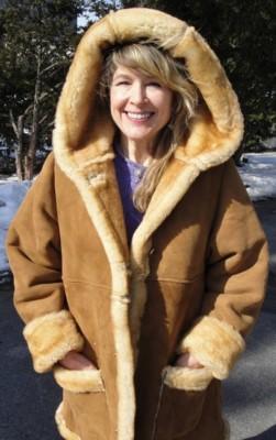 shearling coat lisa womenu0027s shearling sheepskin coat 3/4 length sickafus sheepskins u0026  shearling JFUIFOU