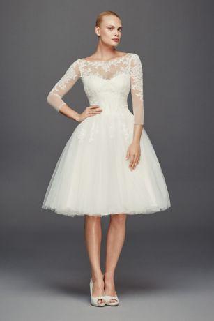 short wedding dress short ballgown vintage wedding dress - truly zac posen ZNVKSDP
