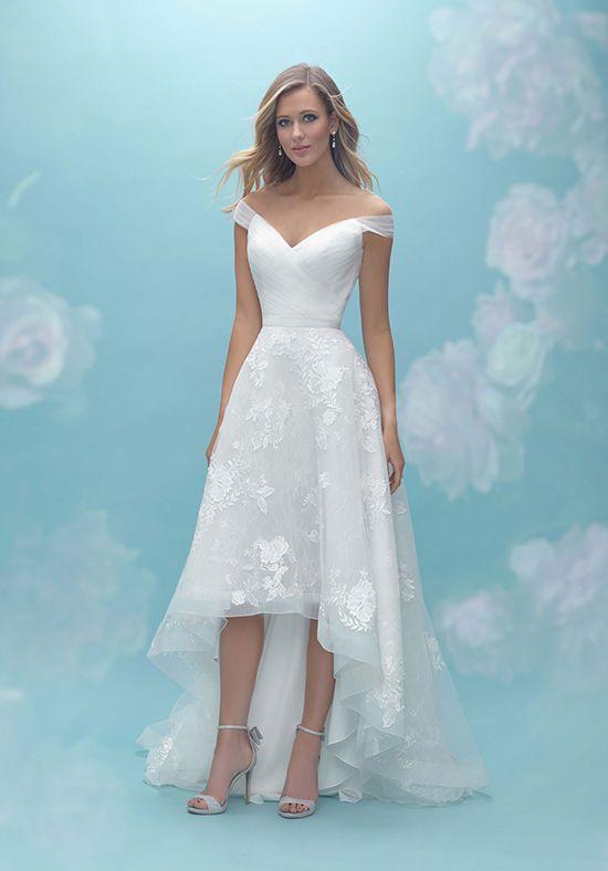 short wedding dresses allure bridals PCVHNUK