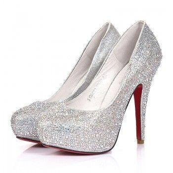 silver glitter heels silver celebrities love super high heels sparkle prom shoes UEZQONH