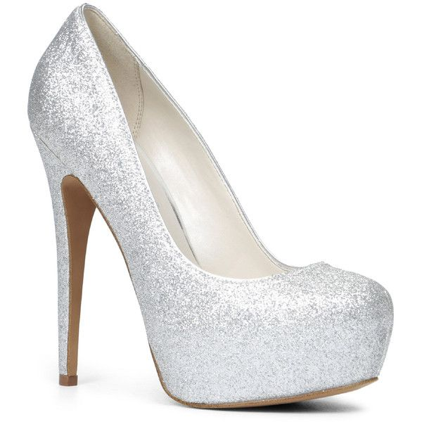 silver pumps aldo silver glittery stilettos high heels the glitter doesnu0027t come out  which doesnu0027t creat RPTUCWP