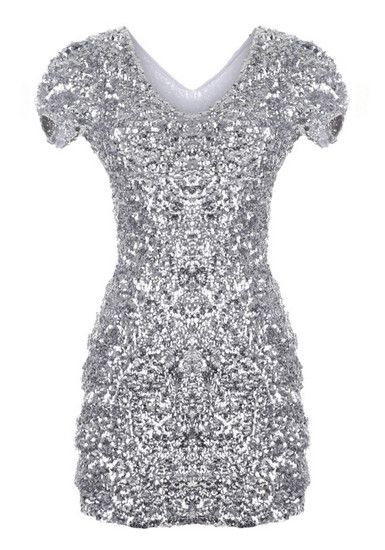 silver sequin dress silver sequined dress MFVXNEF