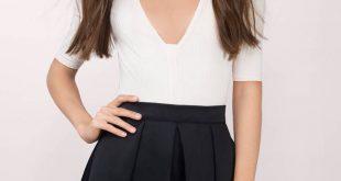 skater skirts, black, full bloom double layered skirt, ... GENAQEW