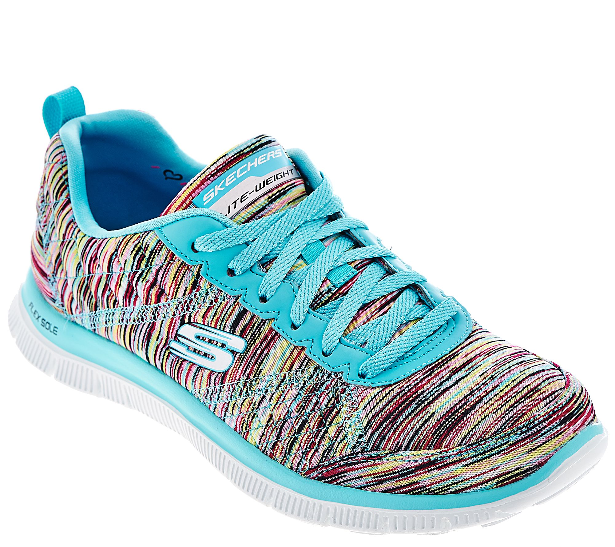 Skechers sneakers skechers space-dyed sneakers with memory foam - whirl wind - a277958 JBAGHPI