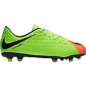 soccer cleats nike product image · nike kidsu0027 hypervenom phade iii fg soccer cleats ZTXXNNB