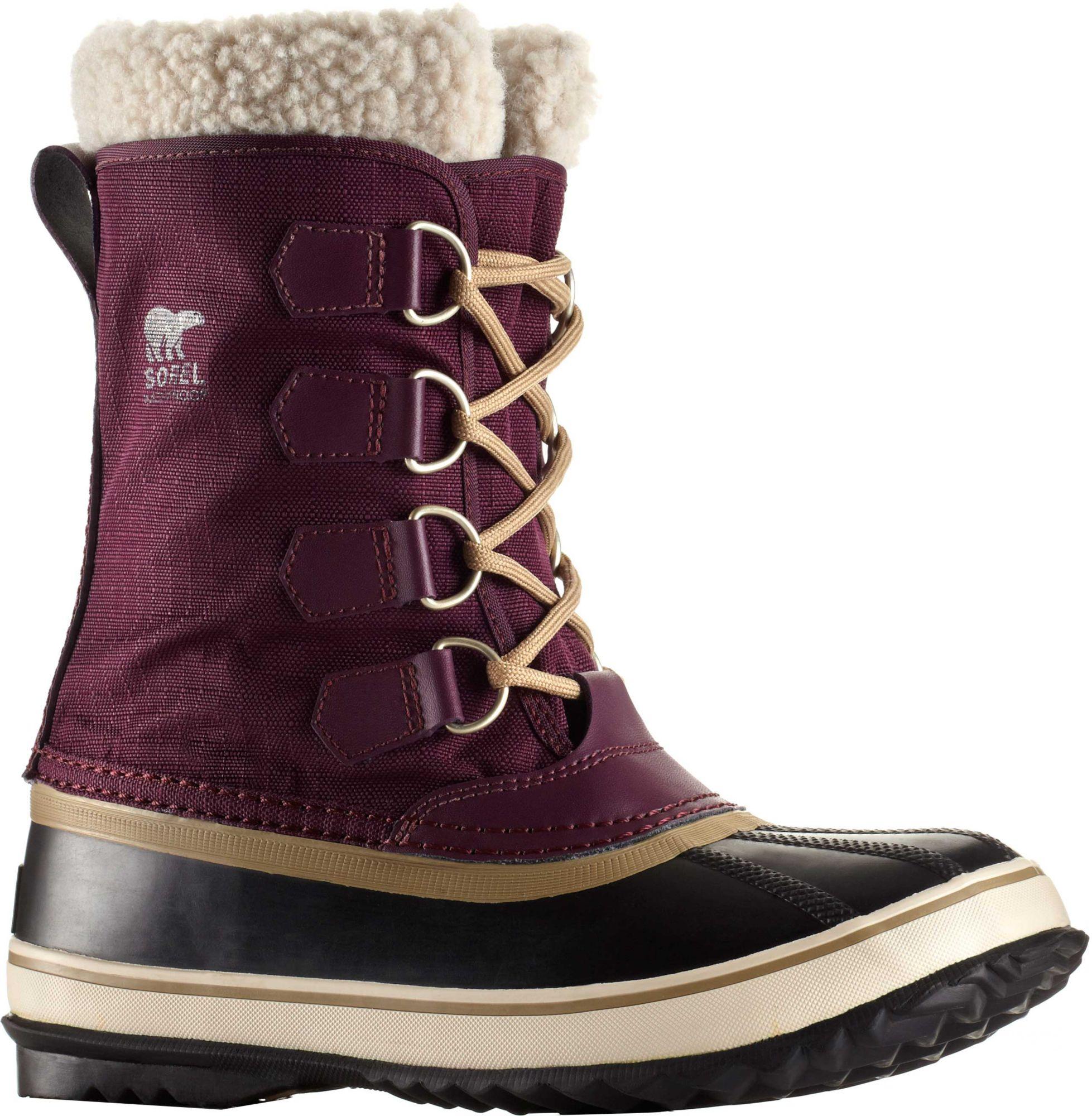 sorel womens boots sorel womenu0027s winter carnival waterproof winter boots YJKLBIO