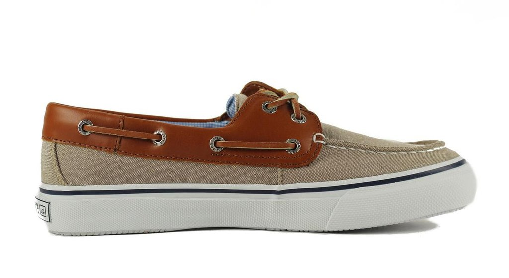 sperry top sider sperry top-sider for men: bahama 2-eye chambray chino sneaker PQYYLZG