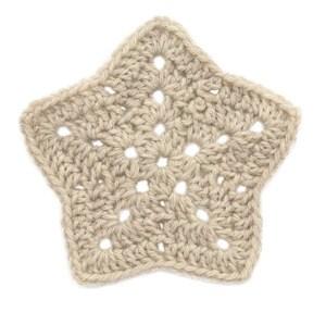 star crochet pattern 18.crochet star applique tutorial IPHCJES