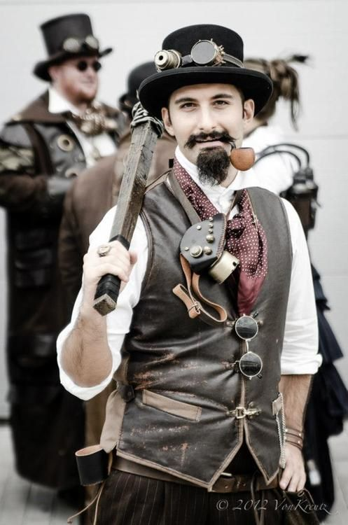 steampunk fashion steampunk style is a fashion on creating clothes that delights the senses,  entertains the SAMVGVM
