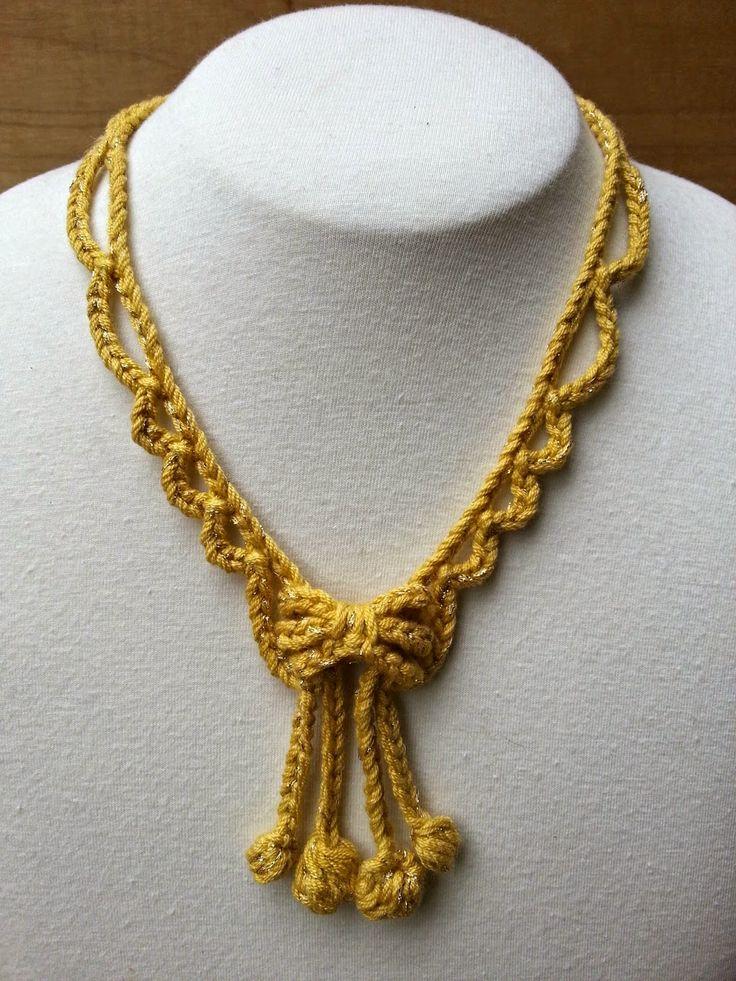 stitch story: new free crochet jewelry patterns for kreinik! VRXWTDL