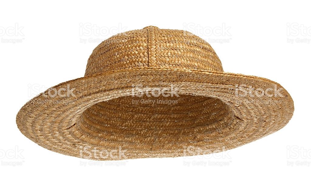 straw hat stock photo NGIVESC