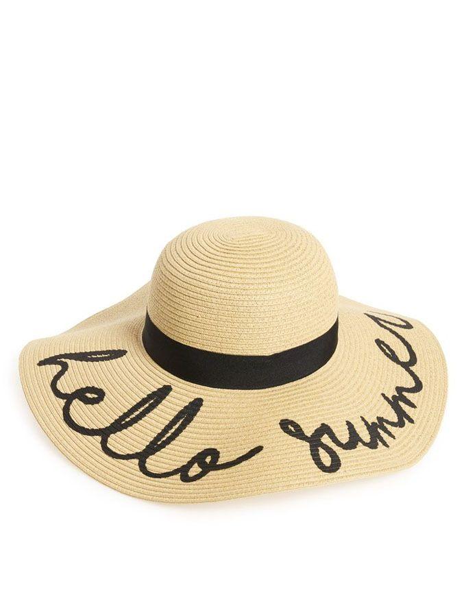 summer hats monday must haves: super-cute hat picks QJCYRHC