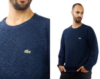 sweaters for men lacoste jumper men / lacoste sweater men / lacoste 90s sweater / lacoste  90s NKLYYUH