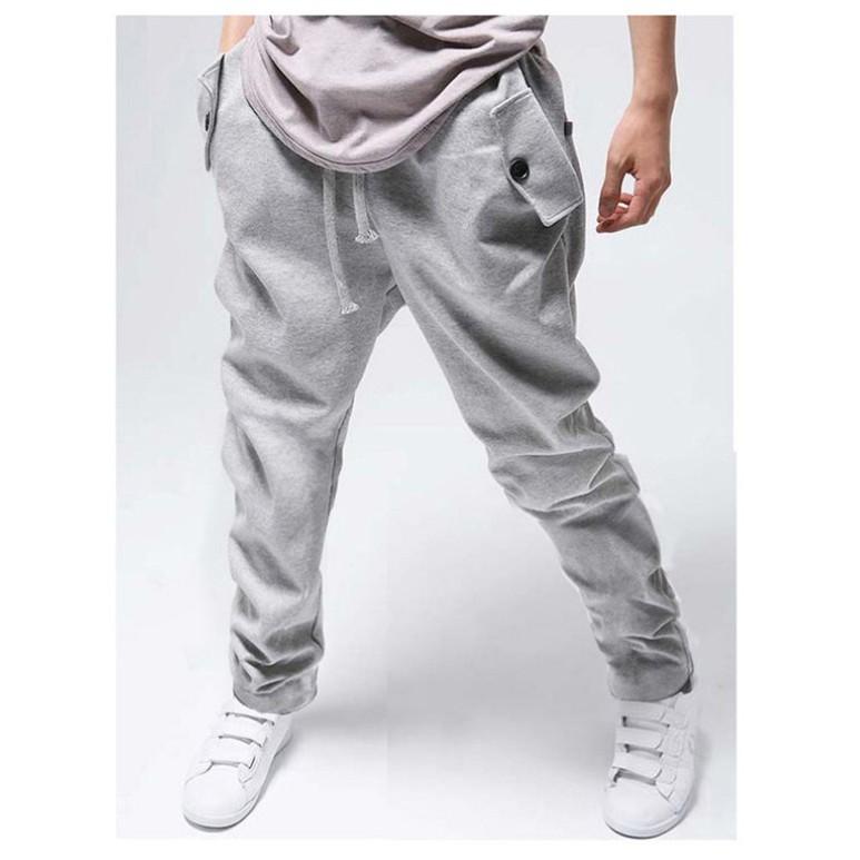 sweatpants for men cargo jogging men sweatpants cotton men`s hip hop . ALHZFQX
