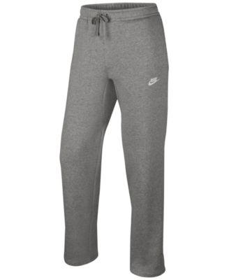 sweatpants for men nike menu0027s open-hem sweatpants XDDOQIX