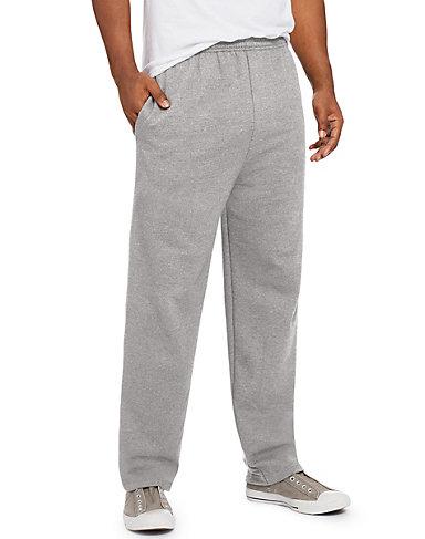 sweatpants for men quick look hanes comfortsoft™ ecosmart® menu0027s fleece sweatpants with pockets XLYIZXI