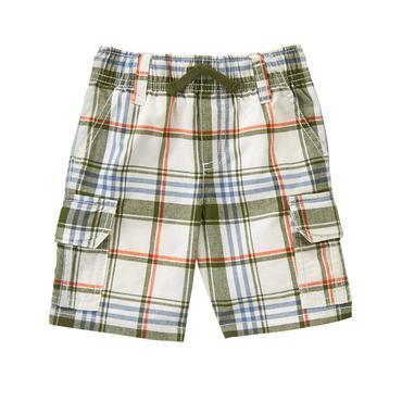 toddler boys khaki plaid plaid shorts by gymboree HHRGOUG