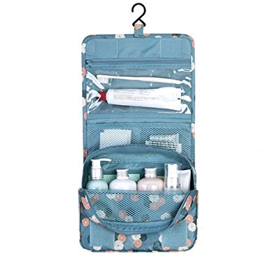 toiletry bag, diniwell travel hanging toiletry organizer cosmetic bag for  girls VOHXXBV