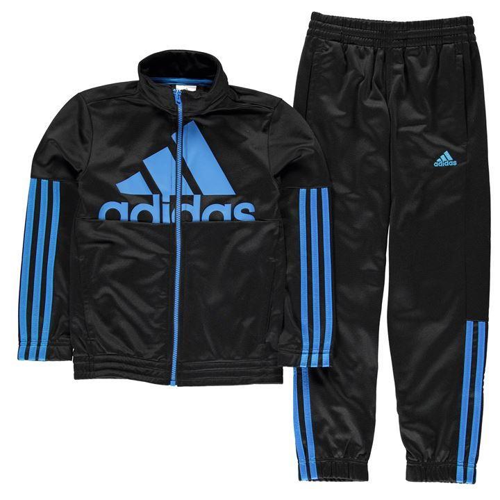 track suit adidas | adidas 3 stripe max polyester junior boys tracksuit | kids  tracksuits CYIBZMW