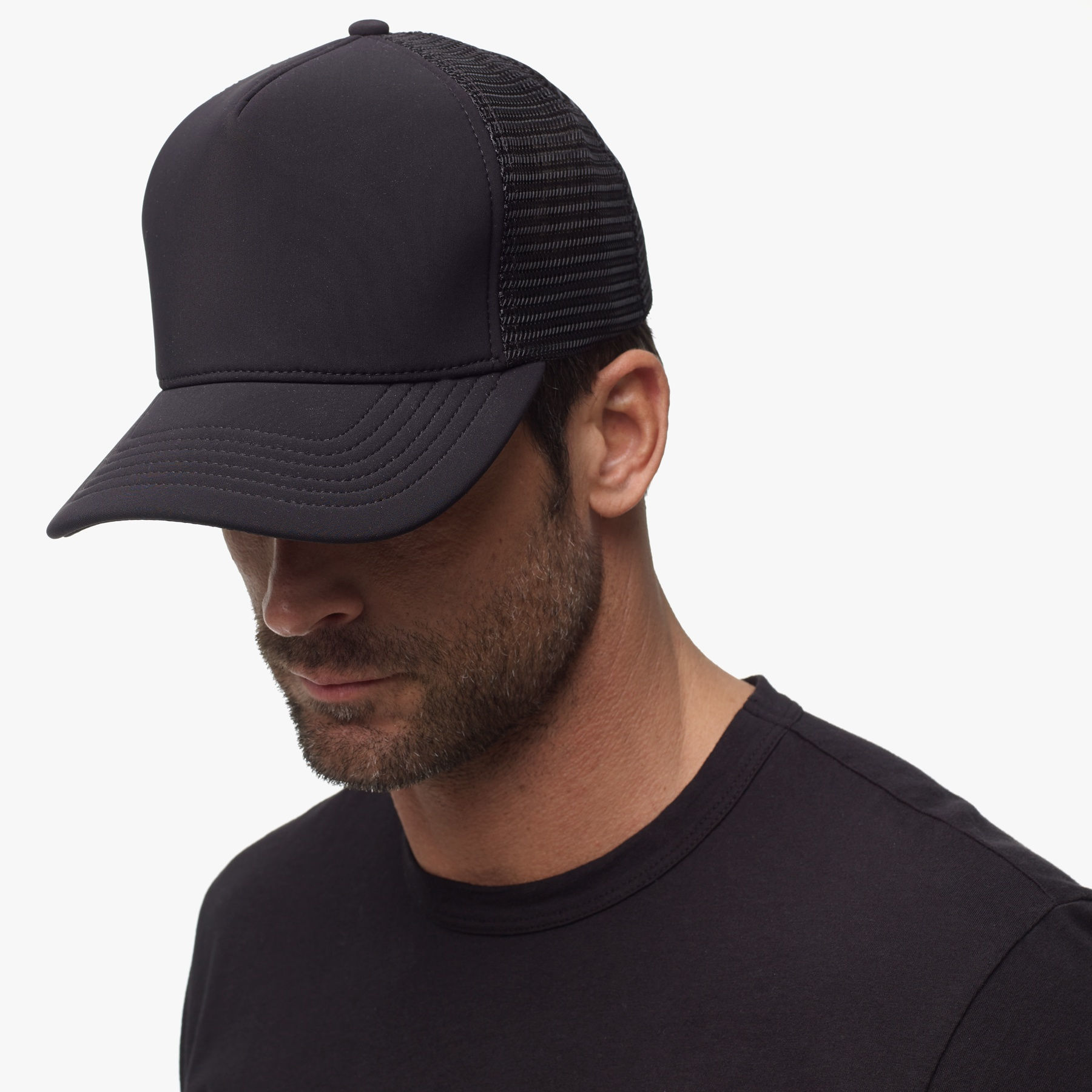How to shrink your trucker cap?
