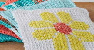 Tunisian Crochet patterns tunisian simple dish cloth UGJIWLO