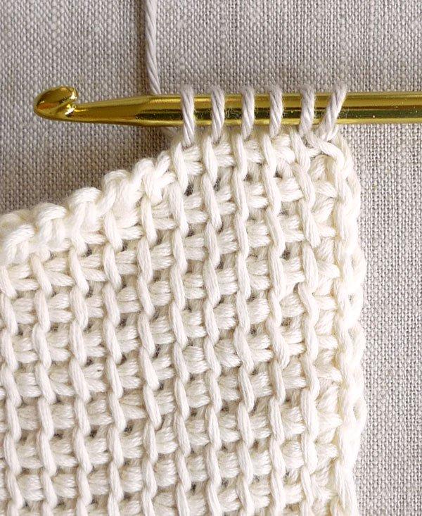 Tunisian Crochet tunisian crochet basics | purl soho DVGPFLW