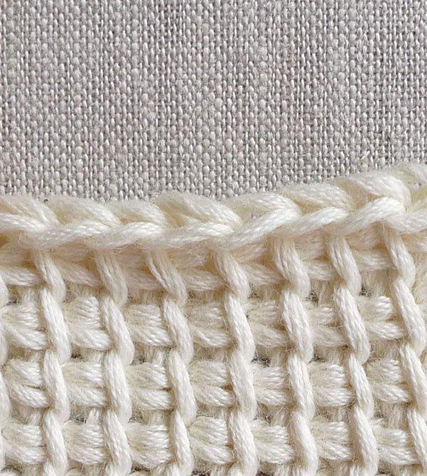 Tunisian Crochet tunisian crochet basics | purl soho QXMPVYD