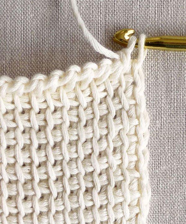 Tunisian Crochet tunisian crochet basics | purl soho VRDKGTL