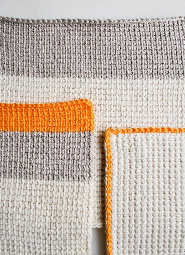 Tunisian Crochet tunisian crochet basics | purl soho XSKRMBG