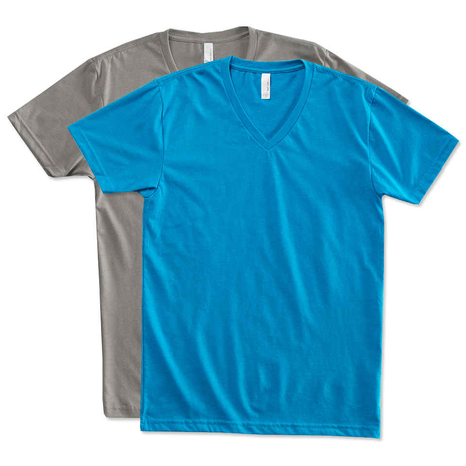 v neck t shirts custom next level 60/40 v-neck t-shirt - design short sleeve t-shirts  online at customink.com HFPMMWR